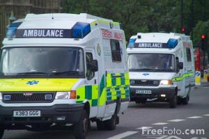"Shown: A preview of the next Republican scare tactic; ""Socialised Medicine turns ambulances into chess boards, just look at Britain!"""