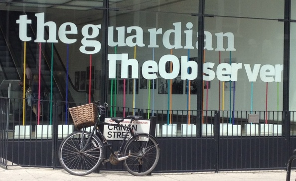 Grauniad Offices; photo by Bryantbob.