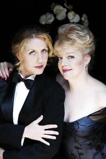 Karen Kohler (l) and K.T. Sullivan, courtesy of Ms. Kohler's website. (http://www.karenkohler.com)